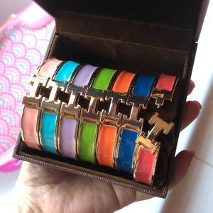 Boutique style metal bracelets